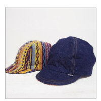 Finch 2WayCAP DENIM × HANDLE PILE(Reversible)