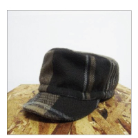 Finch WorkersCap / Stole re-make-Brown