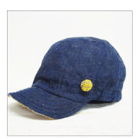 Finch B.B CAP / DENIM×KIORI