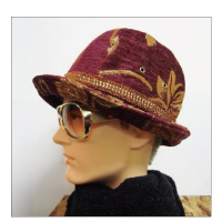 Finch FreedomHAT MoleGobelin (Burgundy×Gold)