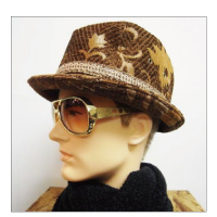 Finch FreedomHAT MoleGobelin (Brown×Gold)