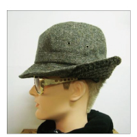 Finch FreedomHAT Tweed & Boa