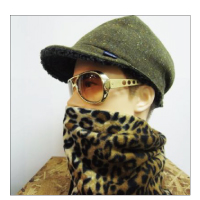 "Finch KaRaKuRi Loose WatchCAP""Leopard"""